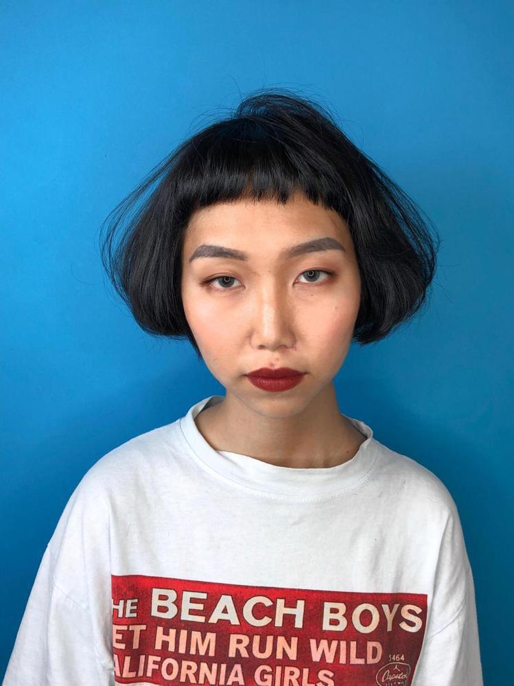 髮型創作/握手髮藝Voso Hair Salon巨蛋旗艦店 / Mina咪娜。圖...