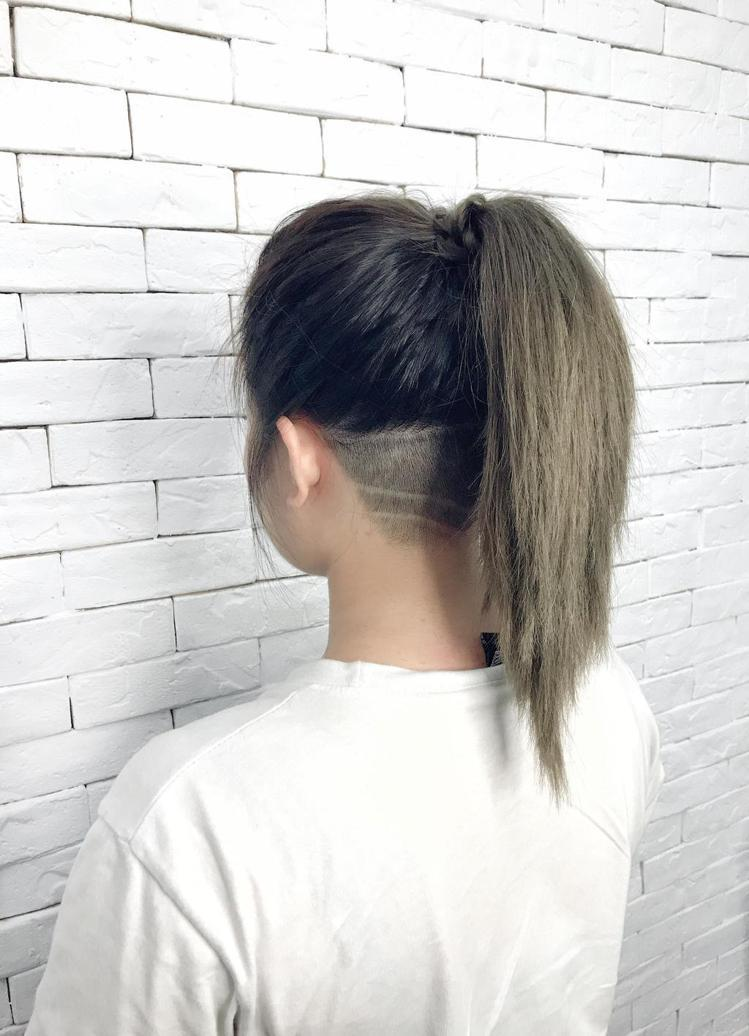 髮型創作/TOP Hair Design / Vava。圖/StyleMap美配...