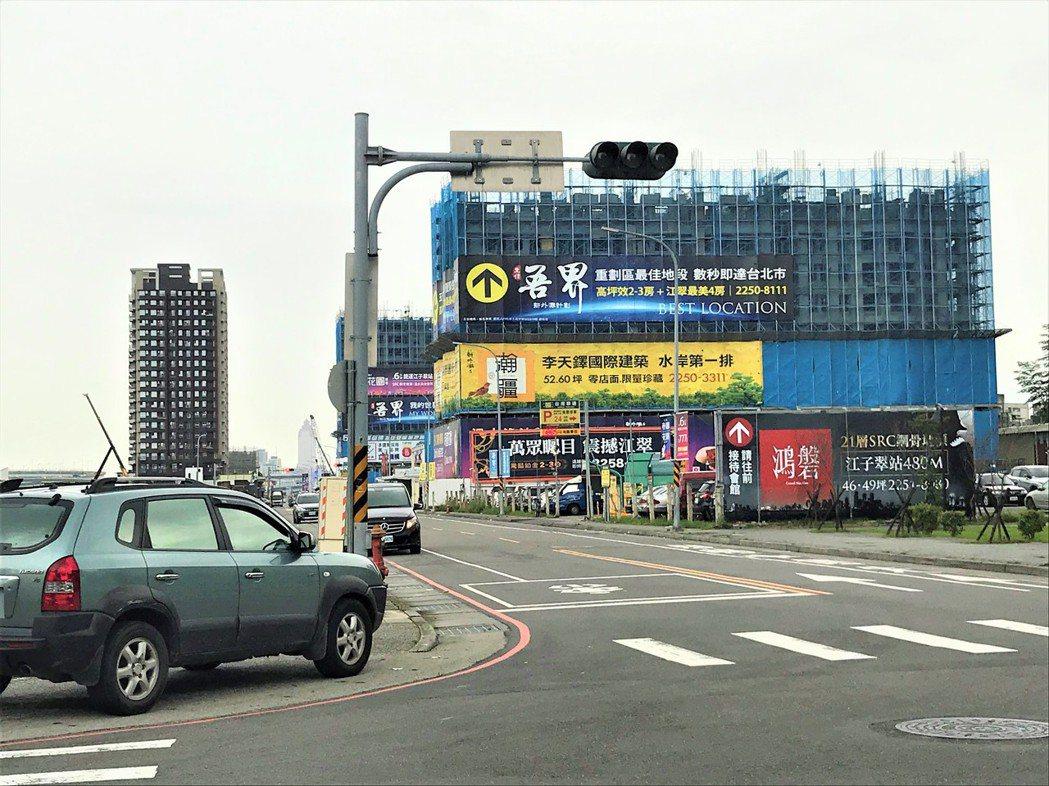 板橋江翠重畫區 記者游智文/攝影
