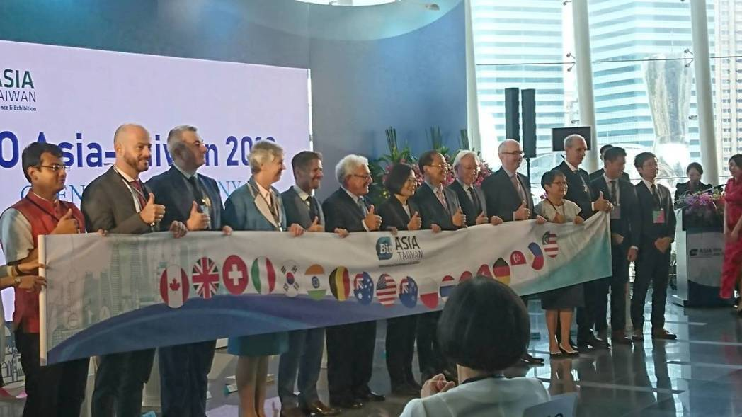 首度移師台北舉辦的2019亞洲生技大展(BIO Asia-Taiwan Exhi...