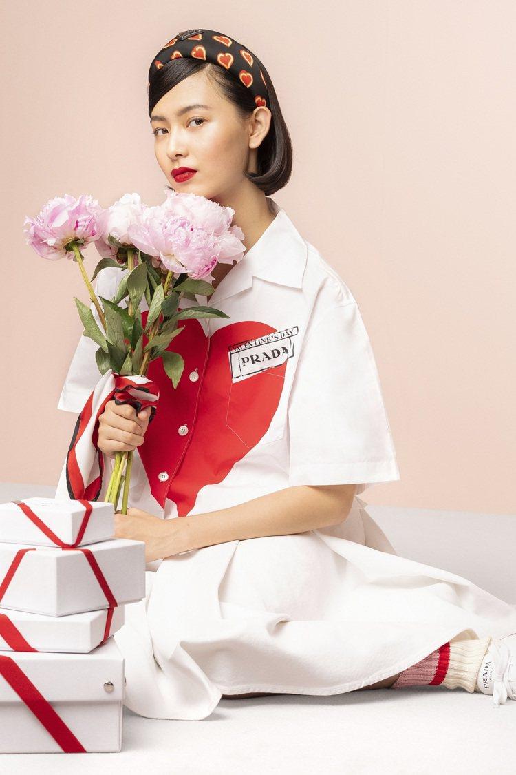 Prada推出七夕情人節限定系列。圖/Prada提供