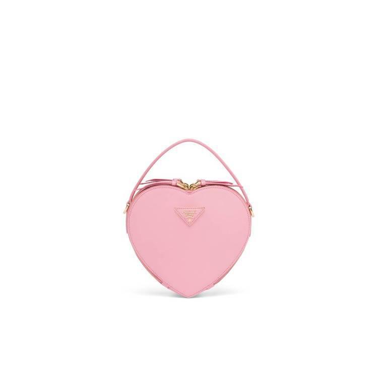 Prada Odette Heart心形情人節系列包款(粉色) ,58,500元...