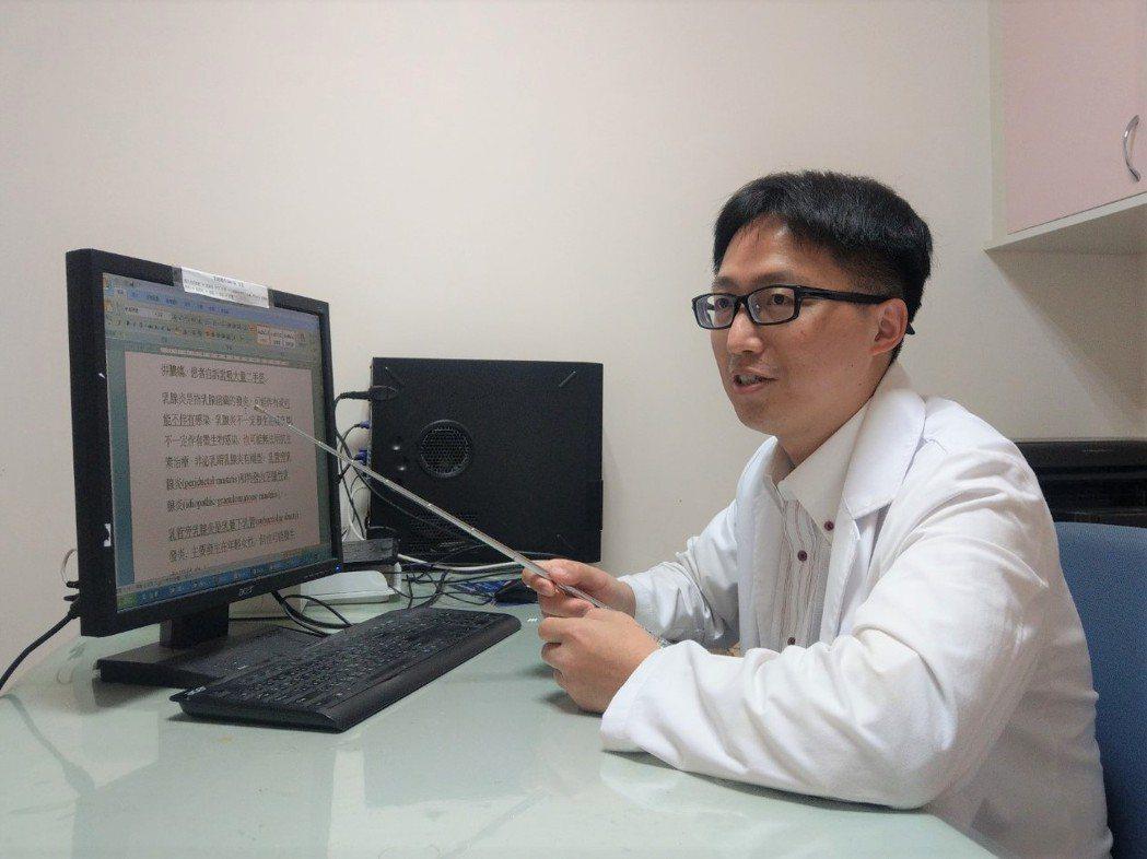 彰化醫院外科醫師李忠懷呼籲民眾重視菸害,改善周遭環境。記者林敬家/攝影