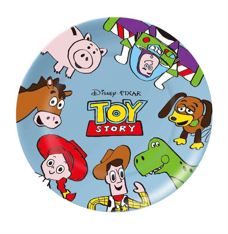 全家便利商店7月31日上午10點起推出「玩心總動員」全店集點活動,圖為玩具總動員...