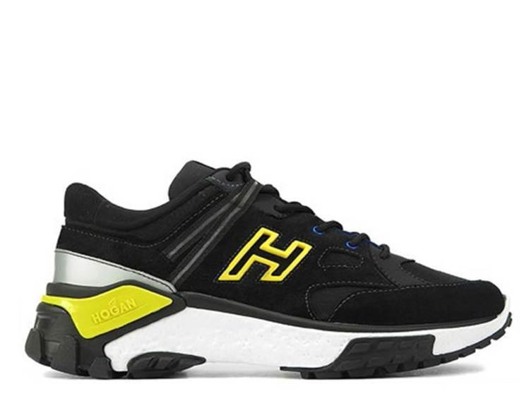 HOGAN Urban Trek磨面皮革男士休閒鞋,25,300元。圖/迪生提供