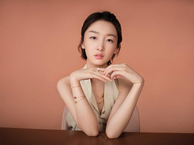 寶詩龍大中華區代言人周冬雨認為,在愛中應保有獨立和自我個性。圖/寶詩龍提供