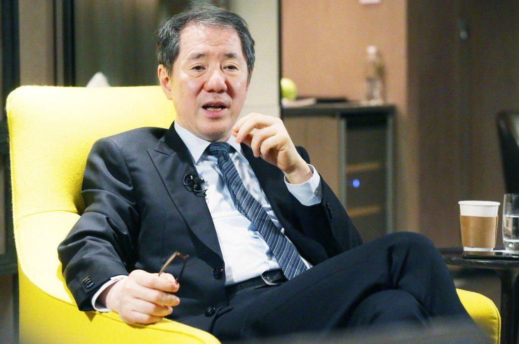 南海控股集團主席于品海。記者林俊良/攝影