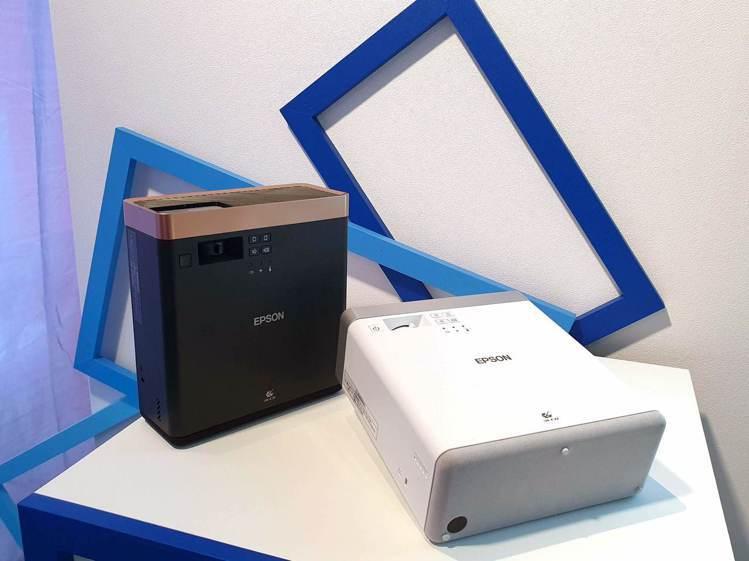 Epson EF-100自由「視」移動光屏共推兩色,上市價29,800元,首批買...