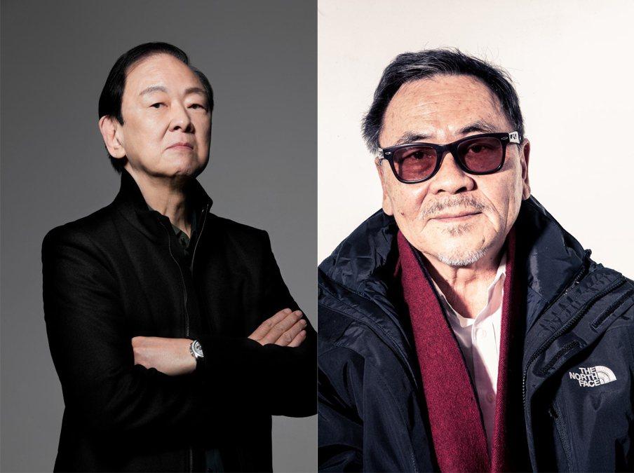 資深武打明星王羽與金獎導演王童榮獲第56屆金馬終身成就獎。圖/金馬執委會提供