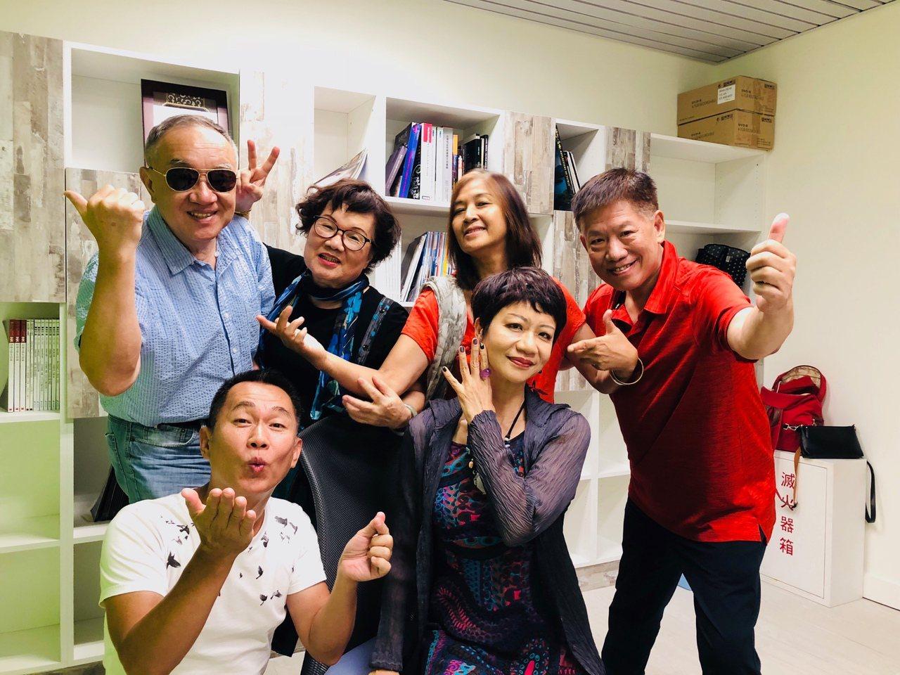 台灣版《我所經歷的性事》,共六位60歲以上素人演員參與。記者何定照/攝影