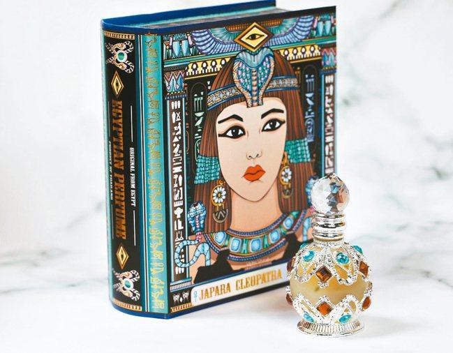 JAPARA埃及精油香精充滿異國色彩,香氛氣味也有濃濃埃及風。 圖/JAPARA...