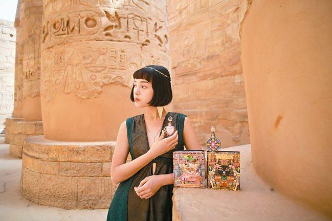 JAPARA埃及香氛精萃,專屬的精美盒裝,更凸顯品牌特色及質感。 圖/JAPAR...
