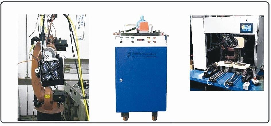 孟晉科技可客製化雷射清潔設備從手持、搭配機械手臂、甚至專用機。 孟晉/提供