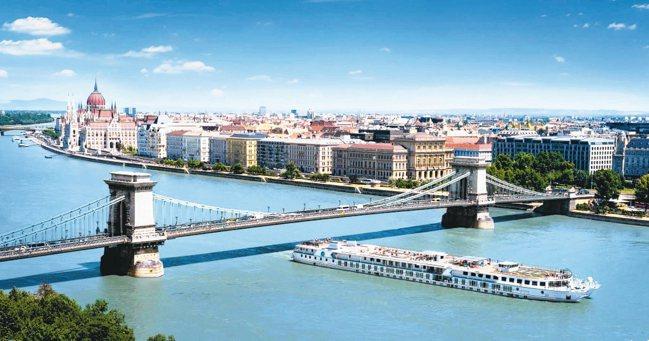 歐洲河川郵輪是相當盛行的旅遊方式。 圖/水晶郵輪