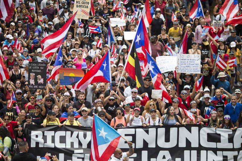 波多黎各出現美國史上最大的政府破產,繼任者形成超難克服的挑戰。 美聯社