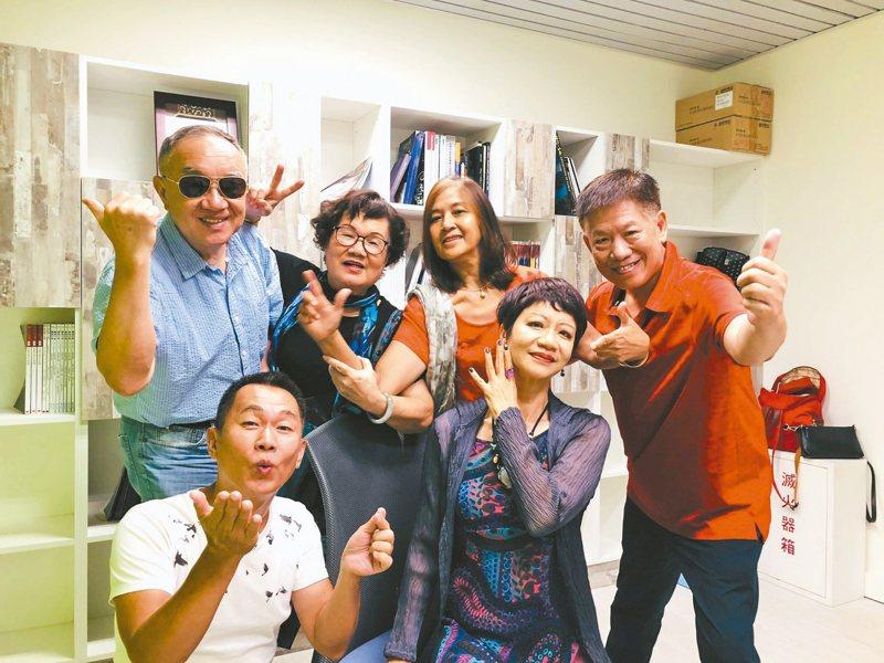 台灣版《我所經歷的性事》,共六位60歲以上素人演員參與。 記者何定照/攝影