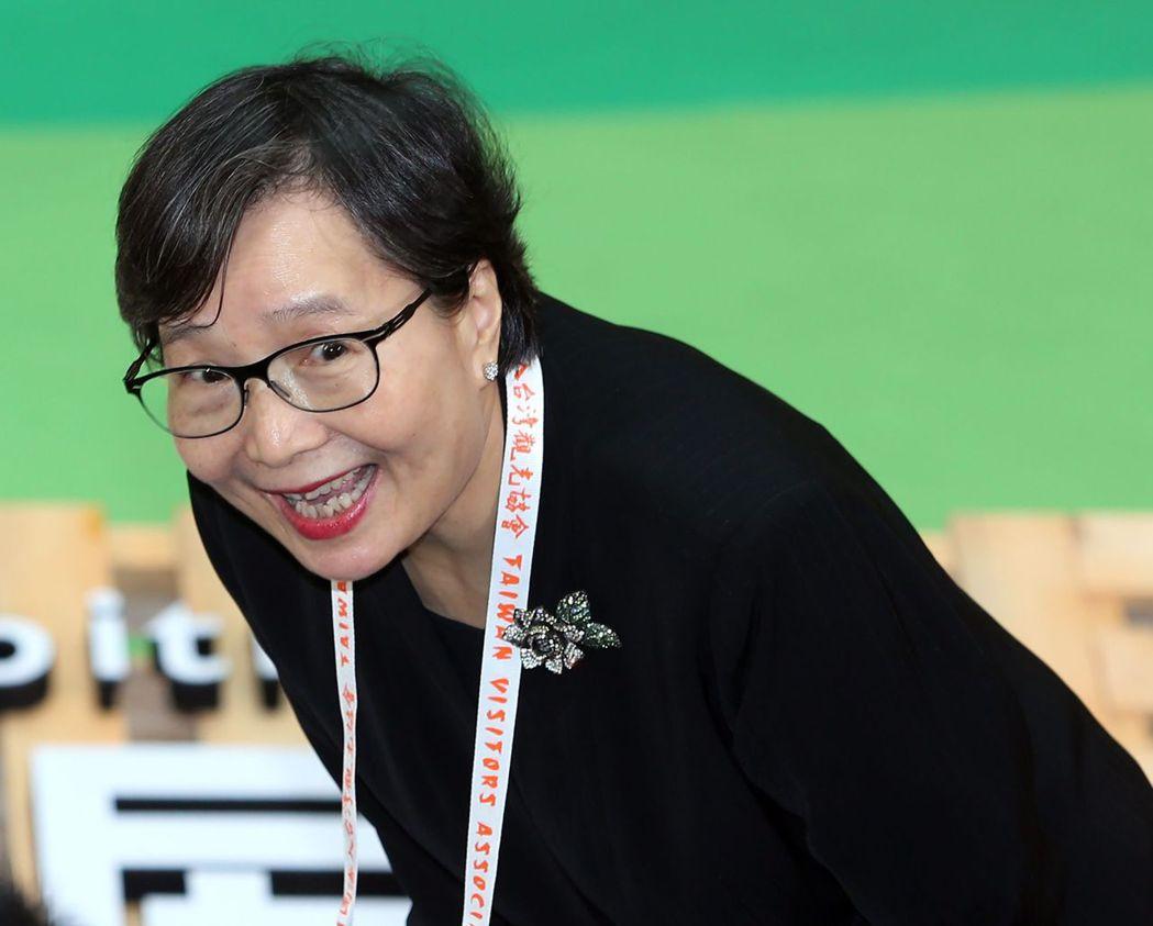 華膳空廚董事長葉菊蘭。 記者曾吉松/攝影