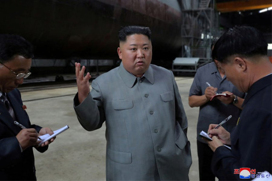北韓領導人金正恩。 圖/北韓中央通信社(KCNA)