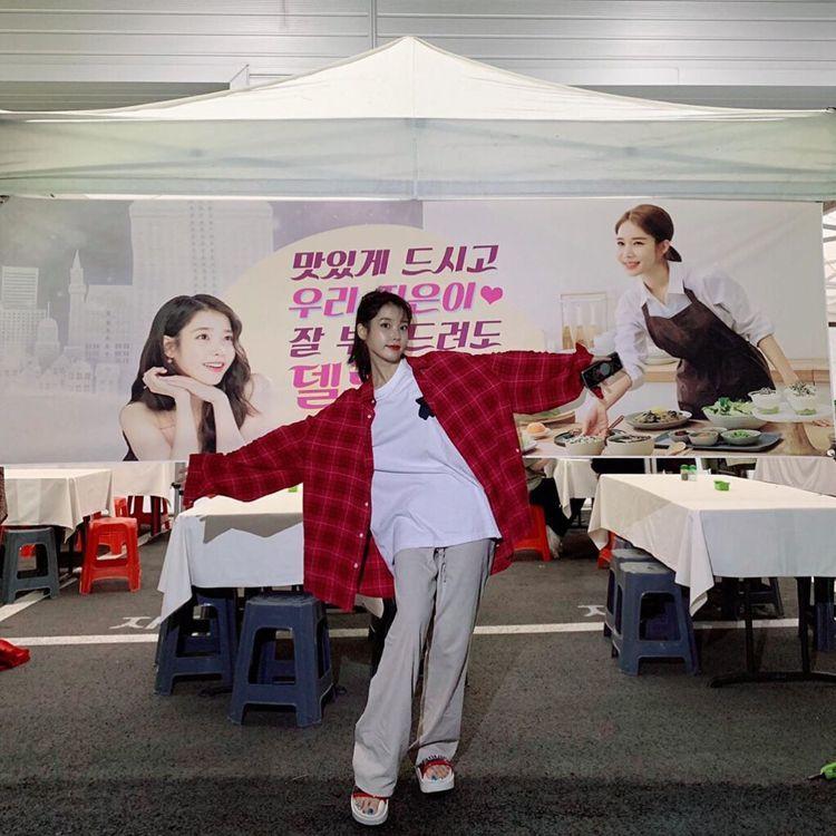劉寅娜送的餐車有辦桌等級。圖/擷自instagram