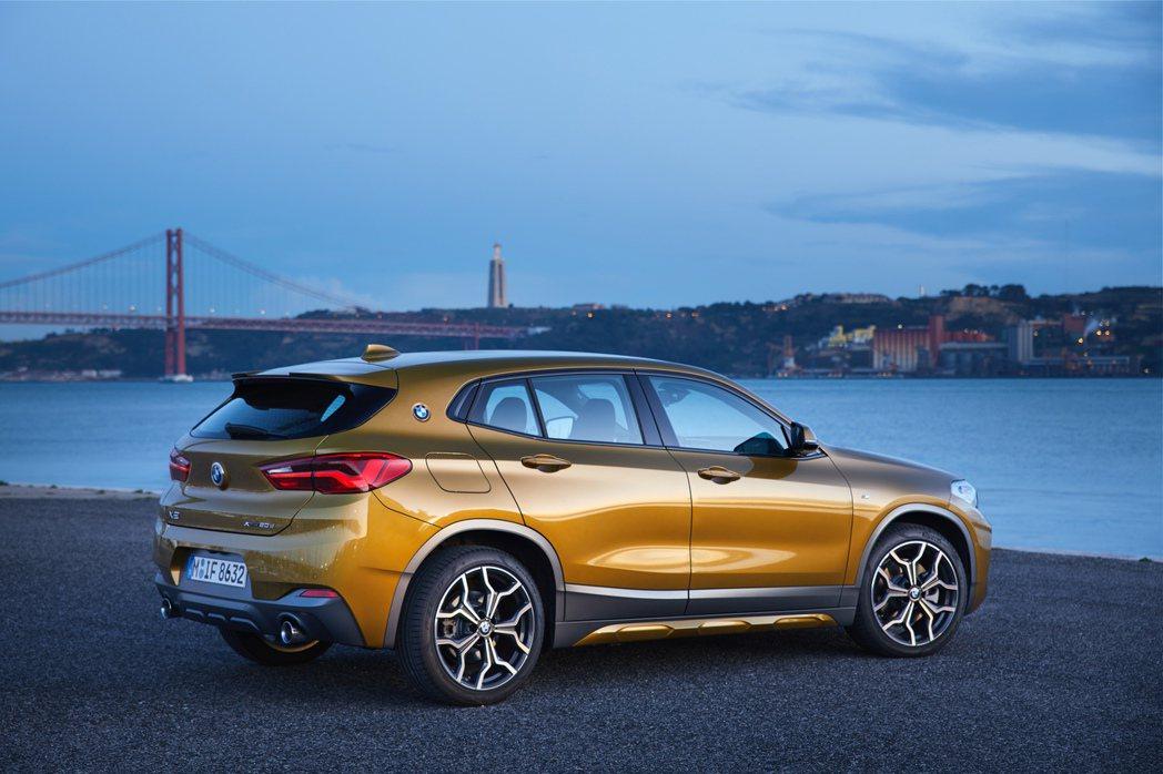 BMW X2在2017年10月底亮相,並於去年北美車展上正式發表。 摘自BMW