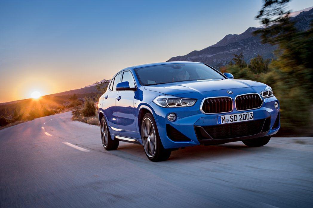 BMW X2車長為4,360mm,但原廠想推出比起X2更小的新休旅。 摘自BMW