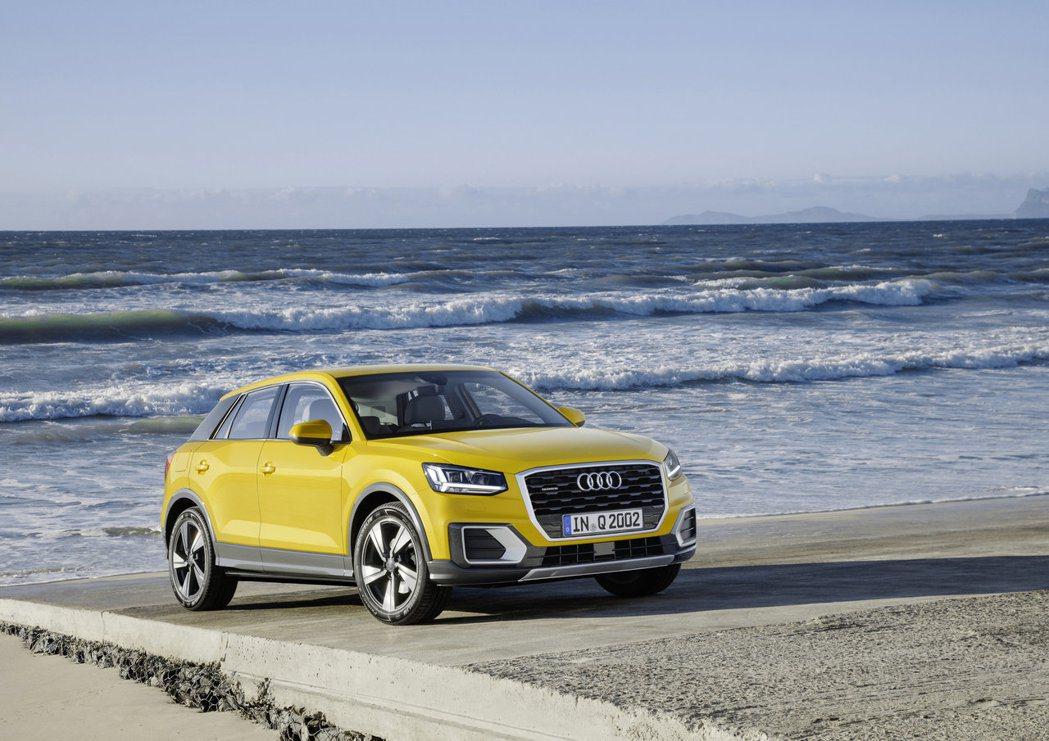 Audi Q2車長4,191mm、車寬1,794mm、車高1,508mm、軸距2...