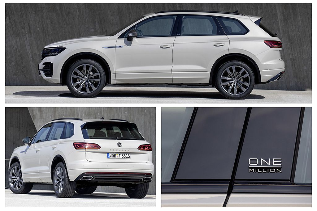 福斯Touareg One Million Edition特仕車,外觀採Sech...