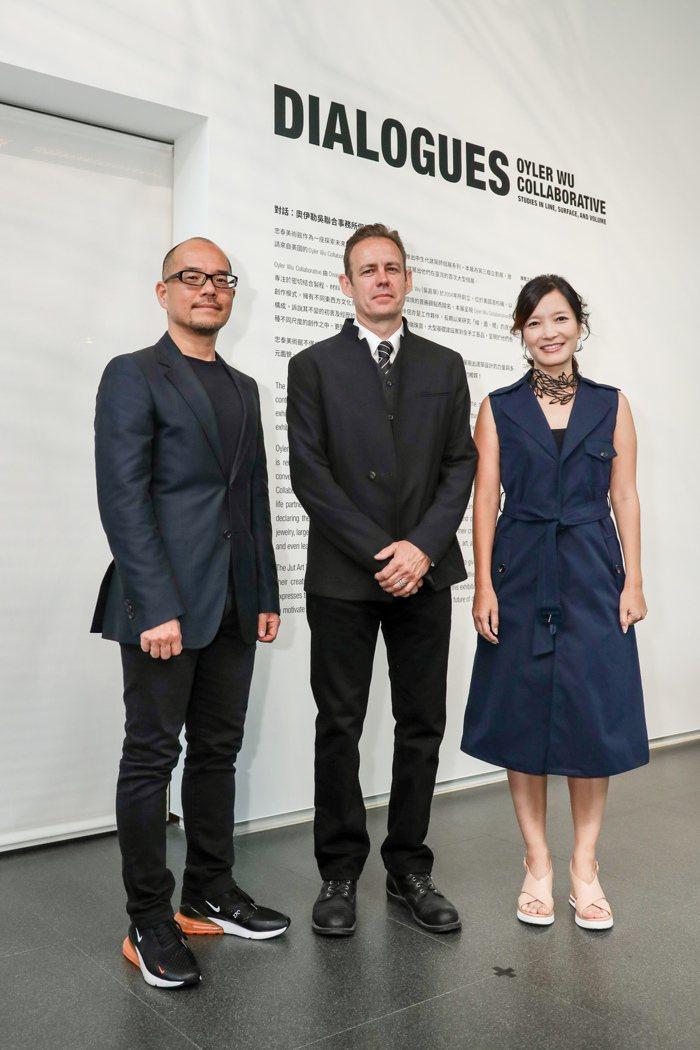 《DIALOGUES:Oyler Wu Collaborative》開展開幕由忠...