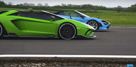 影/McLaren 720S跨級挑戰Lamborghini大牛超跑!