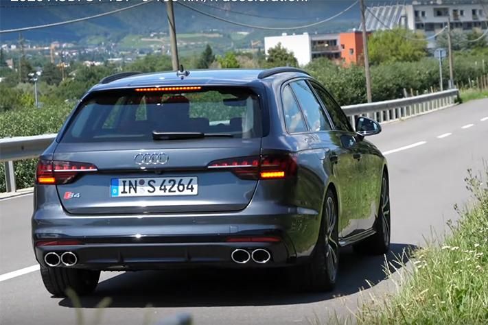 影/Audi S4 Avant TDI柴油跑旅到底有多快?