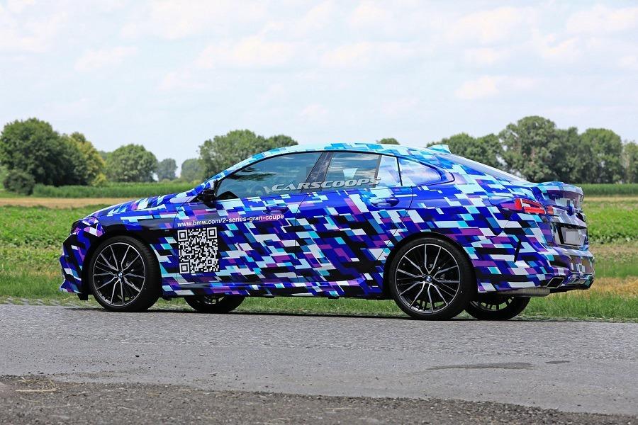 BMW 2-Series Gran Coupe捕獲 鮮豔偽裝超吸睛