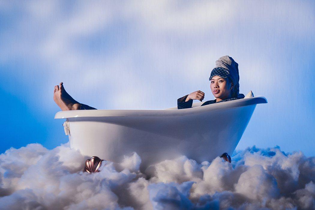 葛仲珊要求團隊一定要準備浴缸。圖/環球提供