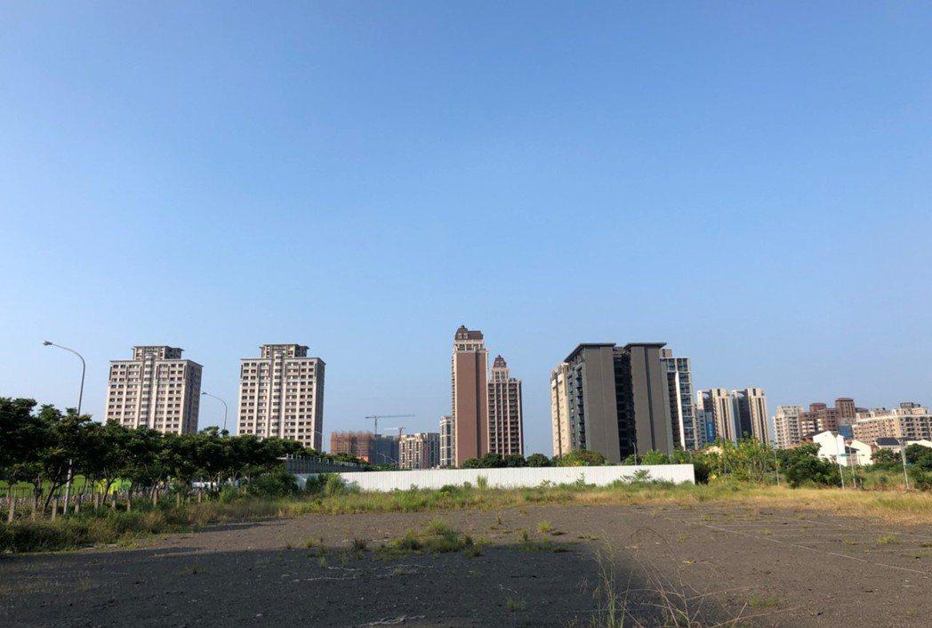 桃園青埔重畫區。記者游智文/攝影