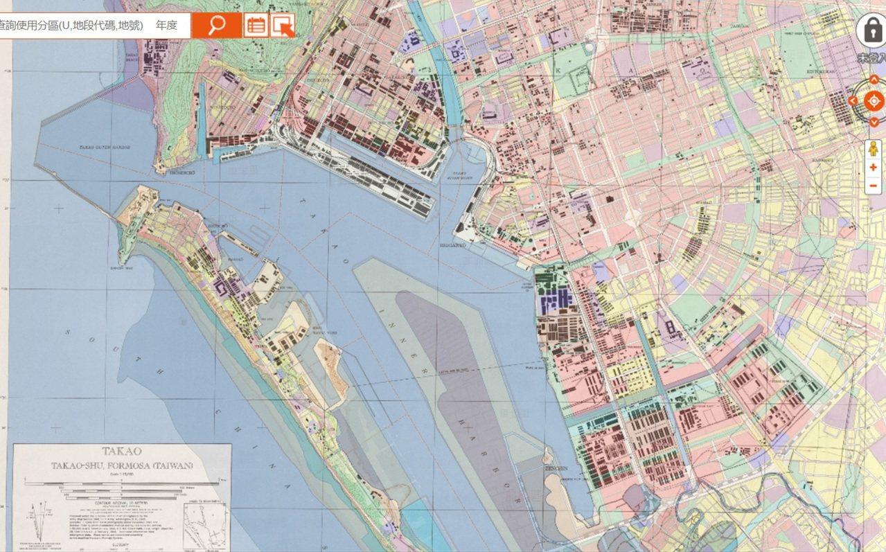 高雄市都發局結合地理資訊系統(GIS),建置完成都市計畫圖重製及數值化圖資,提供...