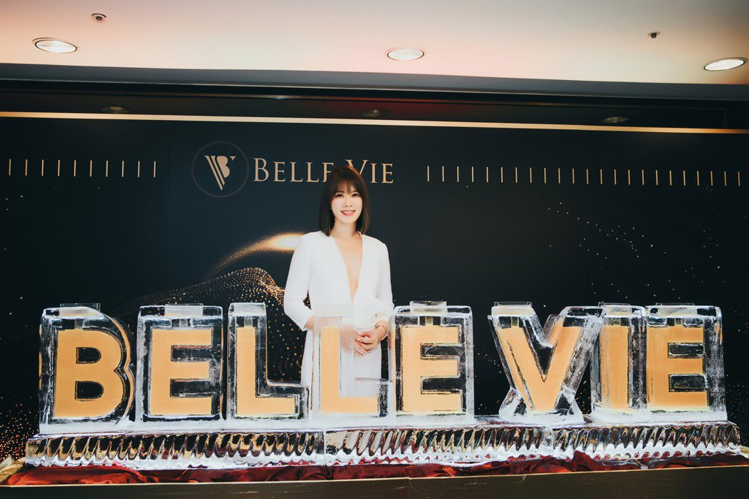 Melody出席Belle Vie細胞抗衰spa館開幕活動。圖/Belle vi...