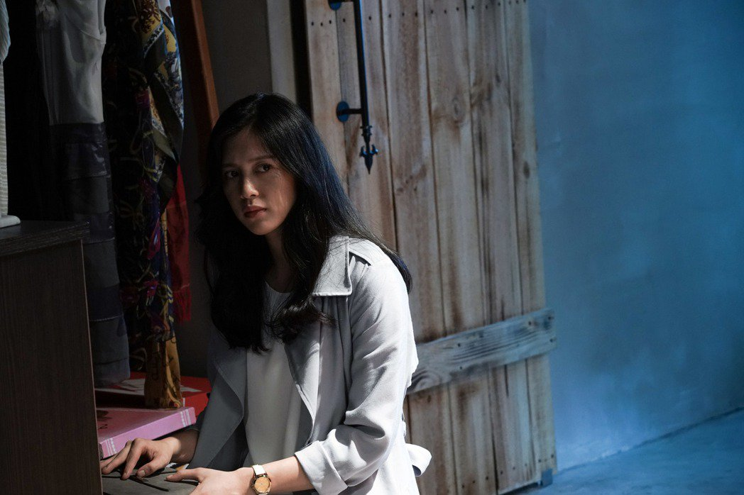 劉奕兒在「第九分局」飾演調查離奇失蹤案的記者。圖/甲上提供