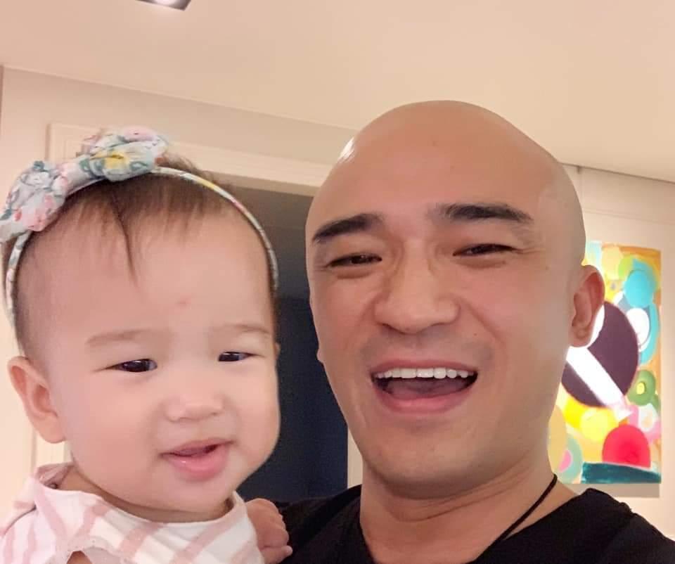 小馬已經有了大女兒倪希米。圖/摘自臉書