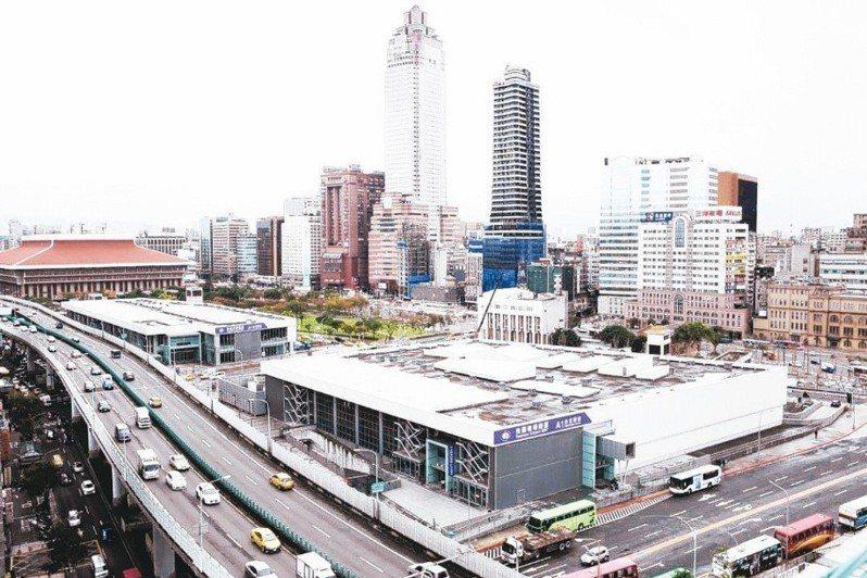 台北雙子星開發案。圖/聯合報系資料照片