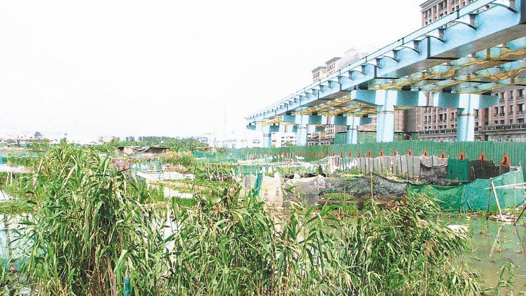 新泰塭仔圳重畫區市府以市地重畫方式辦理,現正進行都市計畫審議。 本報資料照片