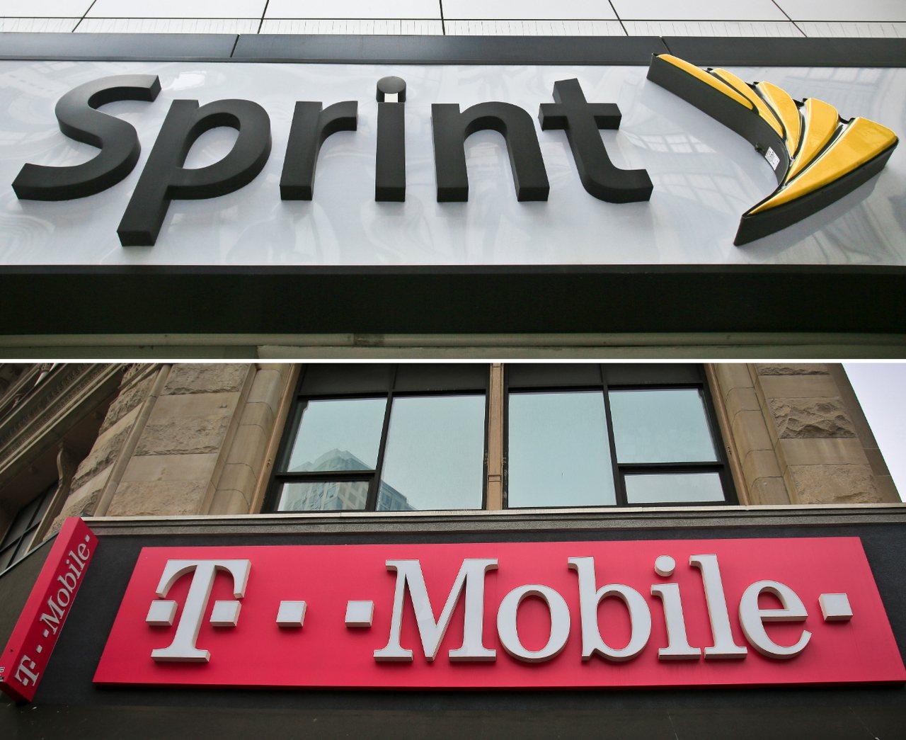 全美第3、第4大的無線通訊公司T-Mobile和史普陵特(Sprint)協議合併...