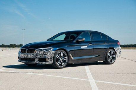 神秘BMW 5 Series偽裝車出沒 而且馬力比M5還猛烈!