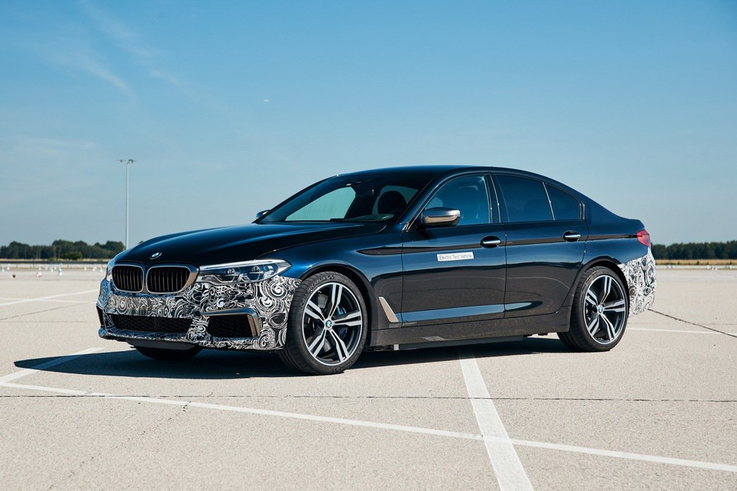 BMW 5 Series Power BEV純電測試車。 摘自BMW