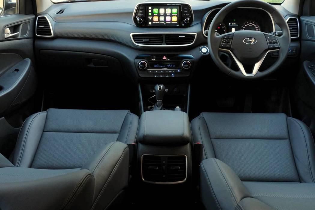 南非版Hyundai Tucson Sport車室。 摘自Hyundai