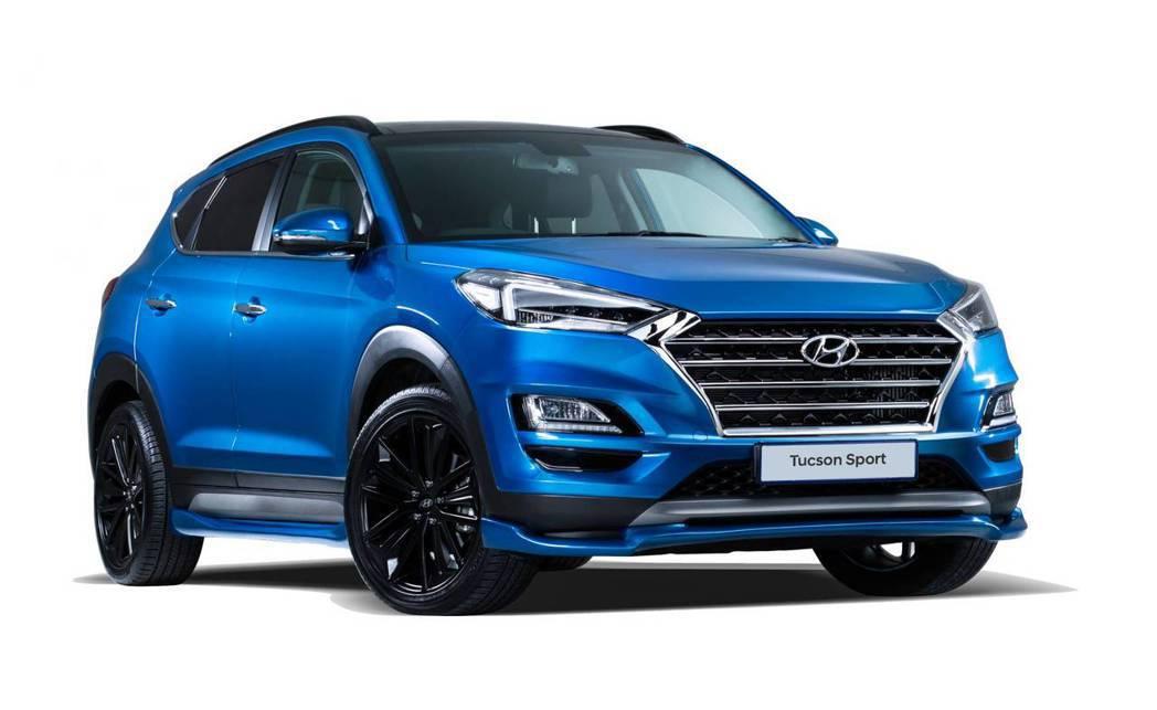 南非版Hyundai Tucson Sport。 摘自Hyundai
