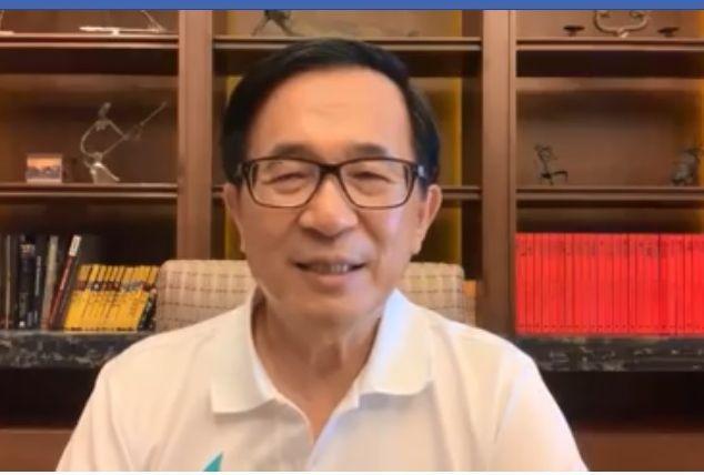 前總統陳水扁昨晚在臉書貼文表示,2020,他不再反對,而且樂見新的政黨「一邊一國...