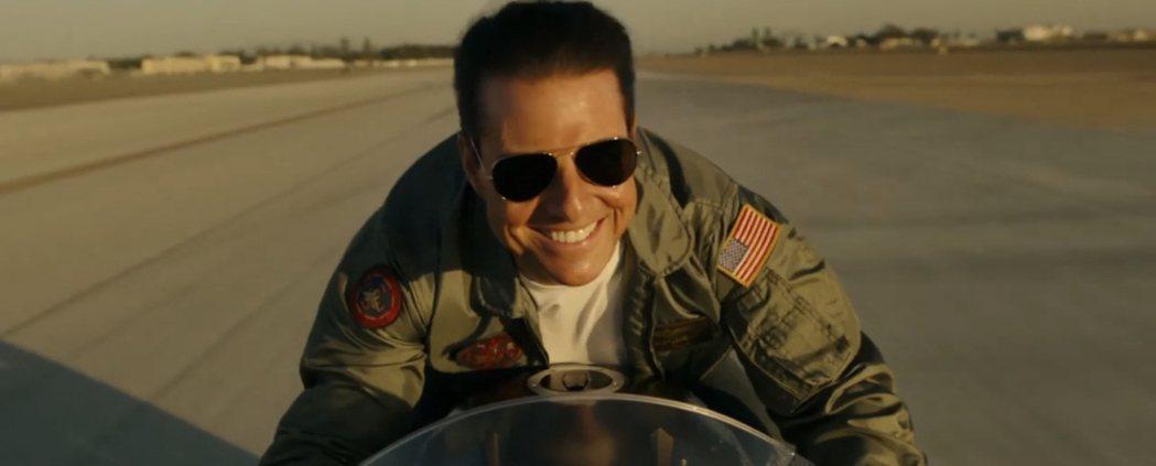 湯姆克魯斯在「捍衛戰士獨行俠」中帥氣依舊,沒有老太多。圖/摘自imdb