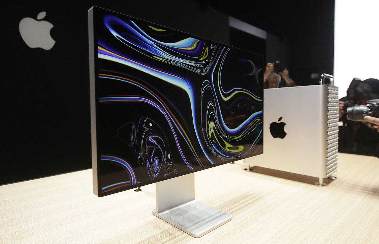 川普拒絕蘋果在中國生產的新Mac Pro零件豁免關稅。美聯社