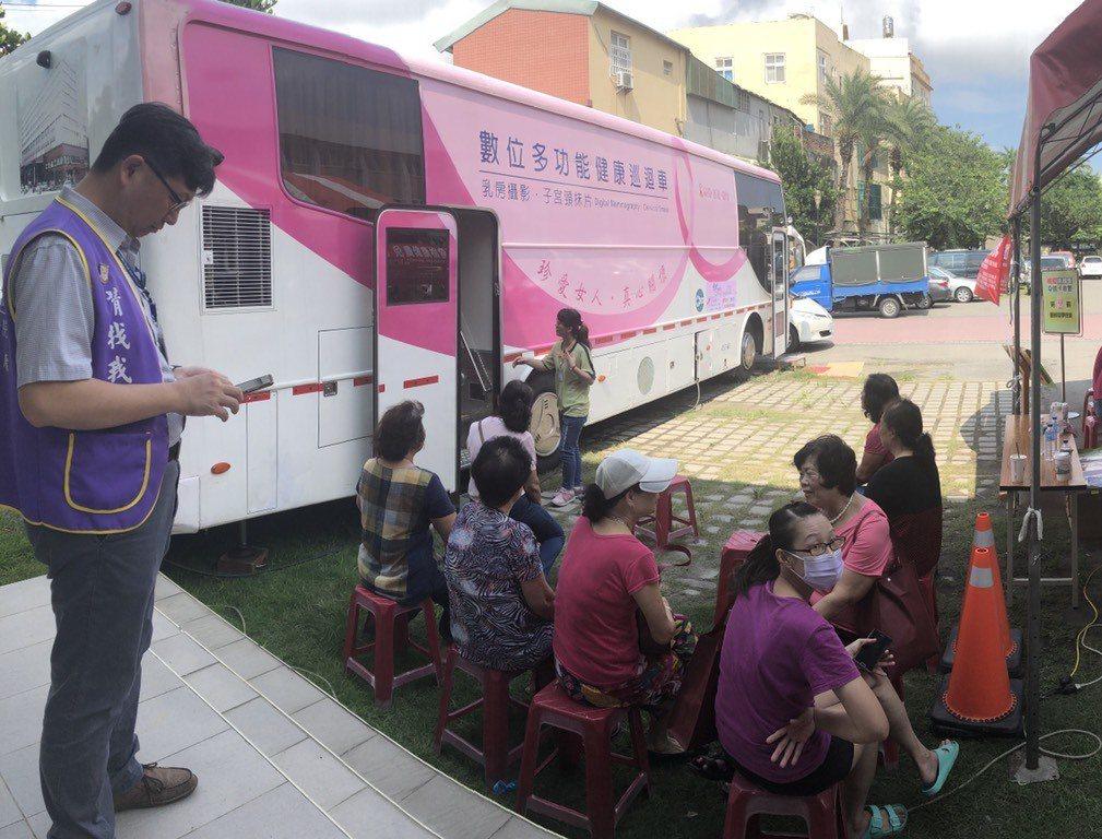 雲林縣四湖郷今早舉辦四大癌篩義診活動,不到二小時大排長龍,已超過200人,到目前...