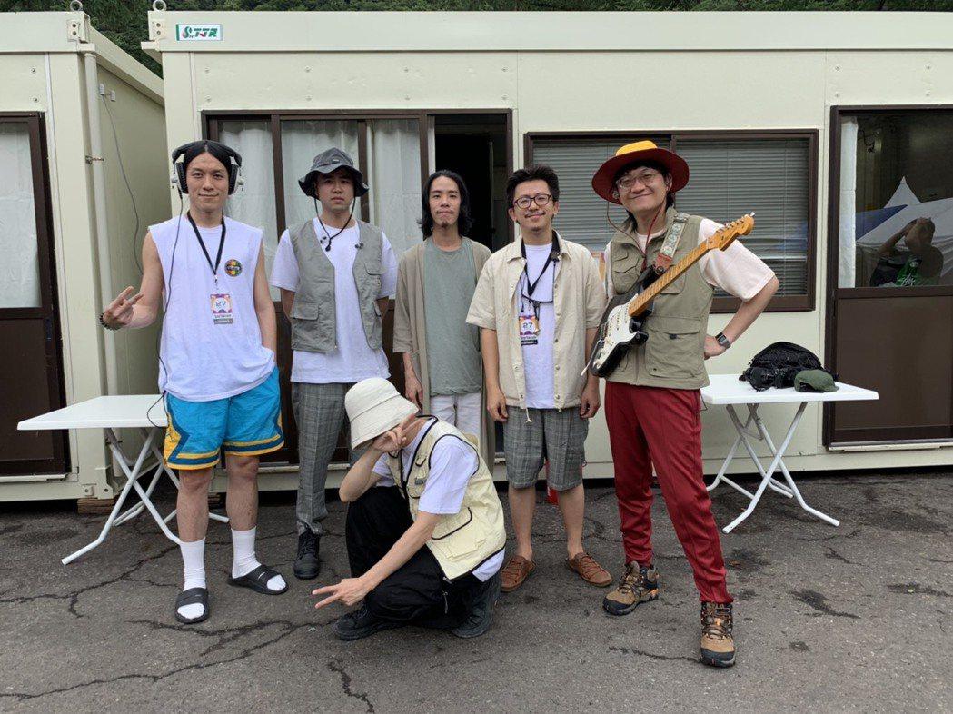 落日飛車成為暌違2年再度登上日本富士音樂節的台灣樂團。圖/夕陽音樂提供