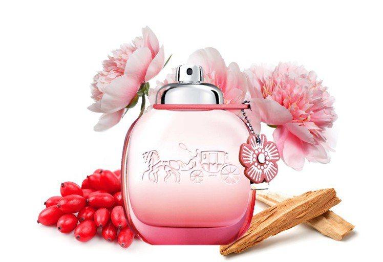 COACH floral blush嫣紅芙洛麗淡香精,30ml售價1,650元、...